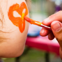 Dawn of a New Face Painting - Face Painter in Connersville, Indiana