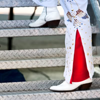 Bruce Elvis Robinson - Elvis Impersonator in Garden Grove, California
