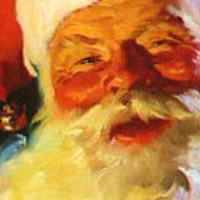 Santa Claus - Santa Claus in Mount Vernon, Washington