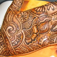 Hummingbird Henna Design - Henna Tattoo Artist in Aurora, Colorado
