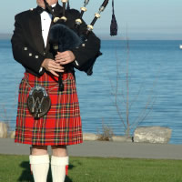 Victor Matthews - Bagpiper in Waterbury, Connecticut