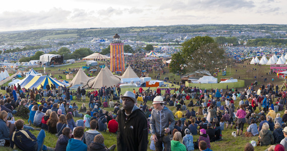 Glastonbury Festival Site